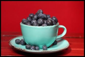 Blueberries - the food for thought