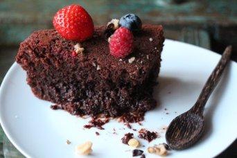 Healthy Chocolate Cake Liquid Center