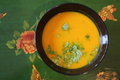 Spicy Pumpkin Soup Recipe